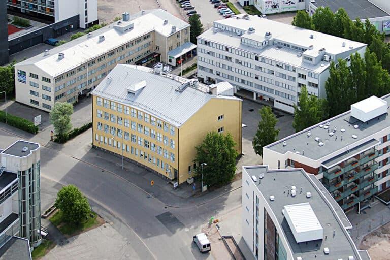 Ilmakuva, EAB Vuokrattavat toimitilat Kutomotie 6 Helsinki